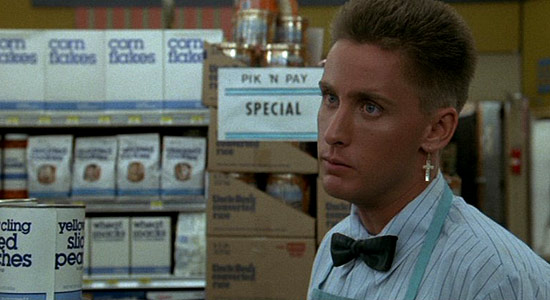 Emilio Estevez gives his best punk-rock face in 'Repo Man'