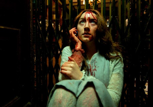 Saorise Ronan deals with bloody eternity in 'Byzantium'