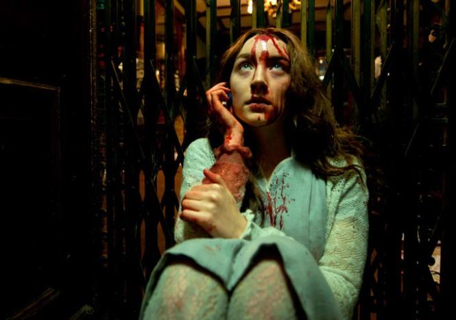 Saorise Ronan deals with bloody eternity in 'Byzantium'
