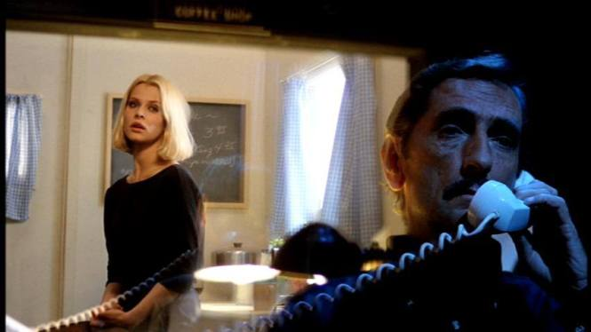 Nastassja Kinski with Harry Dean Stanton in his signature scene from 'Paris, Texas.'