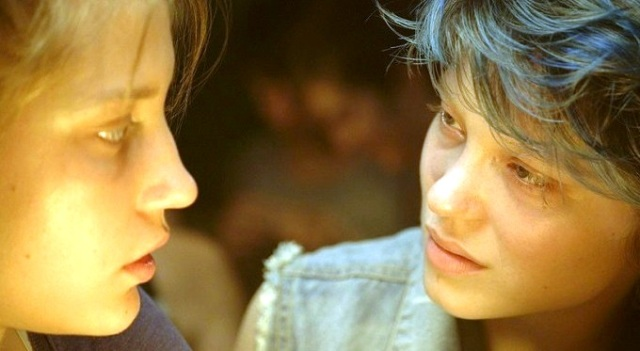 Adèle Exarchopoulos and Léa Seydoux in 'Blue is the Warmest Color'
