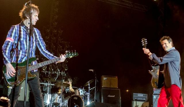 Tommy Stinson (left) and Paul Westerberg bring the rock