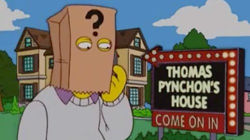 Once, Thomas Pynchon cameo'd on 'The Simpsons.' Or did he?