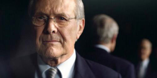 Rumsfeld: 'The only things that are lasting are conflict, blackmail, and killing.'