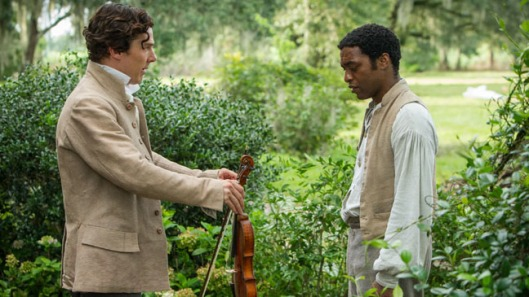 Benedict Cumberbatch and Chiwetel Ejiofor in '12 Years a Slave'