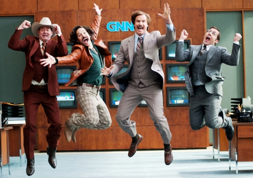 'Anchorman 2'! Is back!