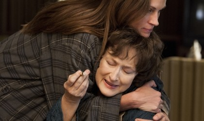 Roberts and Streep in 'August: Osage County'