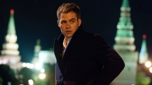 Chris Pine exploring a post-Cold War Moscow in 'Jack Ryan: Shadow Recruit'