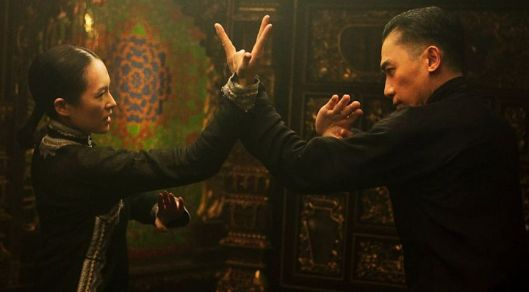Zhang Ziyi and Tony Leung compare styles in 'The Grandmaster'
