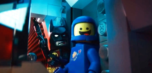 Batman and Random '80s Spaceman Guy Battle the Forces of Evil and Conformity in 'The Lego Movie'
