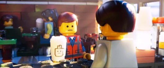 Overpriced coffee as tool of the oppressive state in 'The Lego Movie'