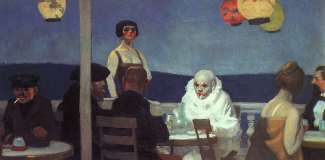 'Soir Bleu' by Edward Hopper (1914)