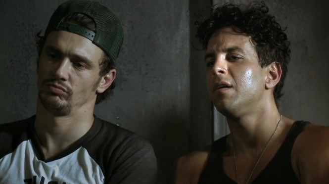 James Franco and Val Lauren immerse themselves in 'Interior. Leather Bar.'