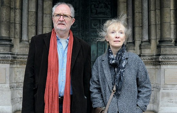 Jim Broadbent and Lindsay Duncan do Paris in 'Le Week-End'