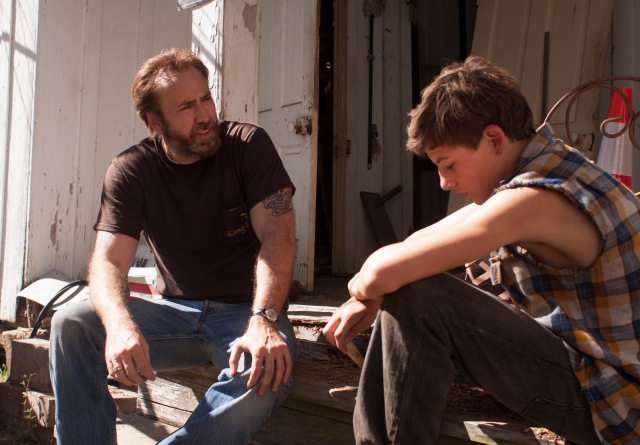 Nicolas Cage and Tye Sheridan in 'Joe'