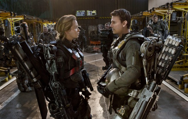 Emily Blunt, Tom Cruise in 'Edge of Tomorrow' (Warner Bros. Pictures)