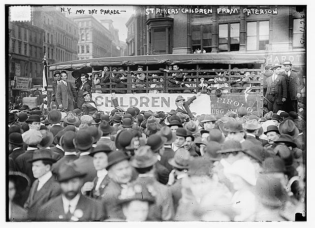 May Day Parade, New York (Library of Congress)