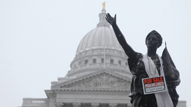 Madison, Wisconsin, ground zero for the Koch brothers' political campaigns. (Variance Films)