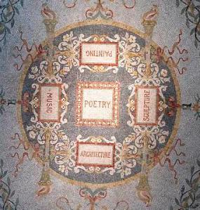 Poetry mosaic at the Library of Congress's Thomas Jefferson building (Library of Congress)