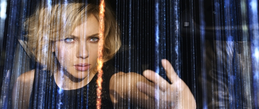 Scarlett Johansson achieves hyper-intelligence in the not-so-smart 'Lucy' (Universal Pictures)