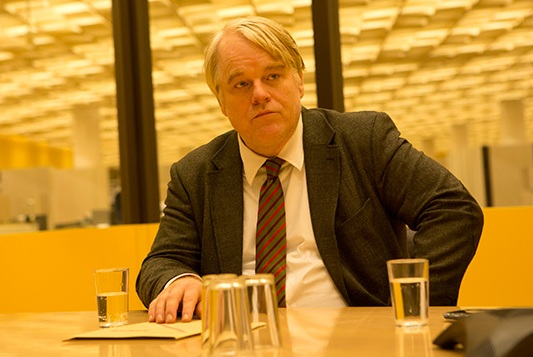 Philip Seymour Hoffman in 'A Most Wanted Man' (Roadside Attractions)