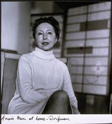 Anais Nin (Elsa Dorfman, c.1970s)