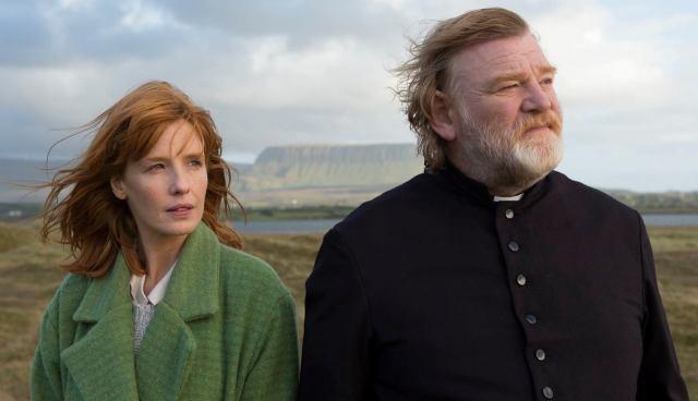 Kelly Reilly and Brendan Gleeson in 'Calvary' (Fox Searchlight)