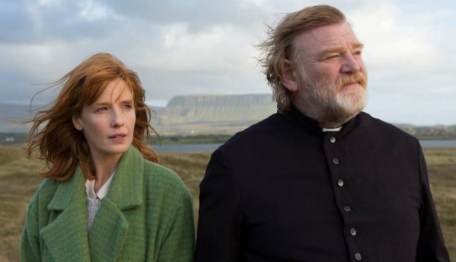 Kelly Reilly and Brendan Gleeson in 'Calvary' (Fox Searchlight)