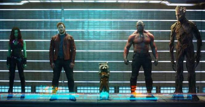 Which of these Guardians of the Galaxy has an awesome mix-tape on their Walkman? (Marvel / Walt Disney Studios)