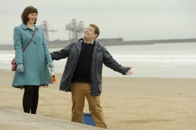 Alexandra Roach gets charmed by James Corden, playing an unlikely opera singer from Wales, in 'One Chance' (Weinstein)