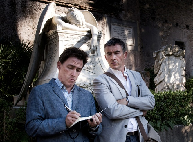 Rob Brydon and Steve Coogan in 'The Trip to Italy' (IFC Films)