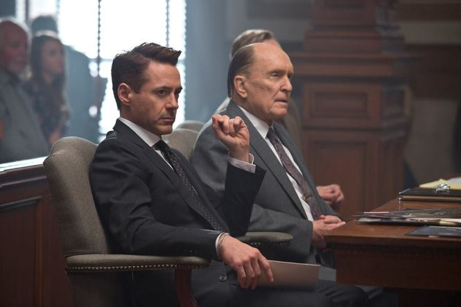 Robert Downey Jr. and Robert Duvall in 'The Judge' (Warner Bros.)