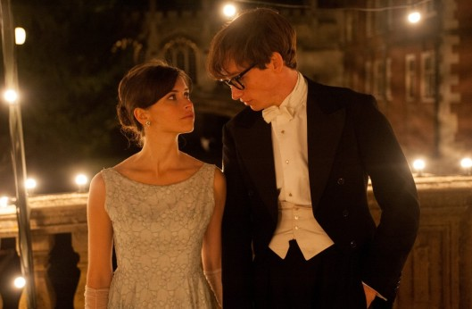 Felicity Jones and Eddie Redmayne in 'The Theory of Everything' (Focus Features)