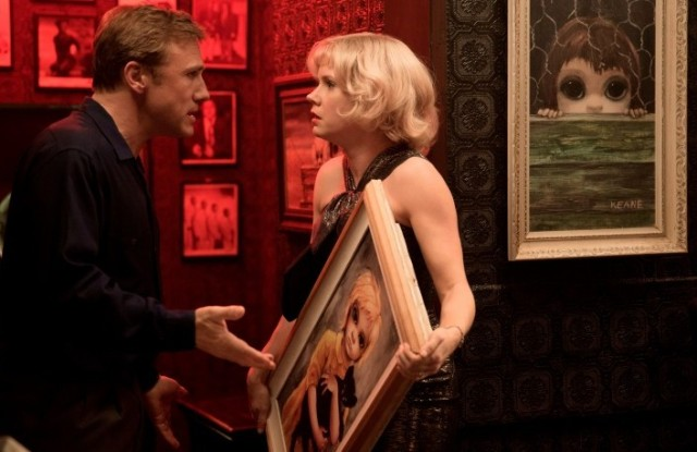 Christoph Waltz and Amy Adams fight over 'Big Eyes' (Weinstein)
