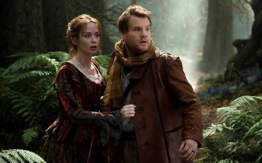 Emily Blunt and James Corden go 'Into the Woods' (Walt Disney)