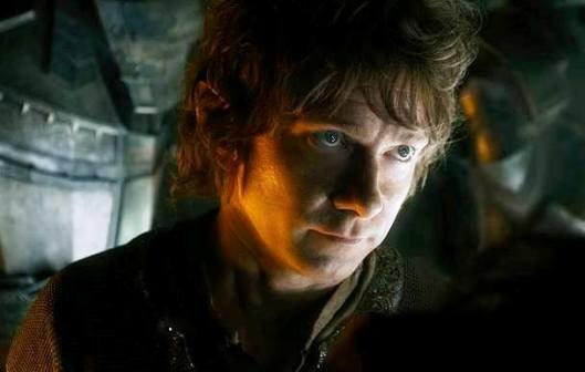 Martin Freeman as Bilbo in 'The Hobbit: The Battle of the Five Armies' (Warner Bros.)