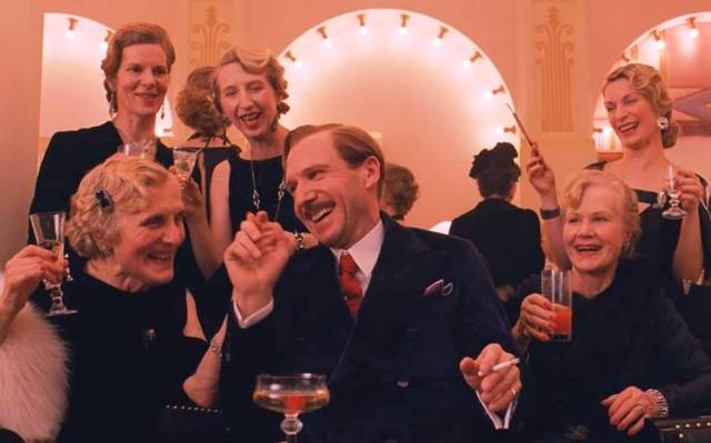 Ralph Fiennes lives it up while he can in 'The Grand Budapest Hotel' (Fox Searchlight)