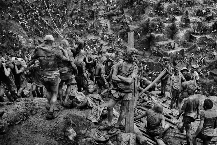 One of Sebastio Salgado's iconic photographs in 'The Salt of the Earth' (Sony Pictures Classics)