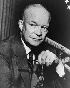 Dwight Eisenhower (c.1954)