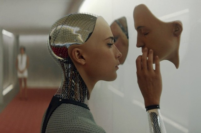 More artificial futures in 'Ex Machina' (A24)