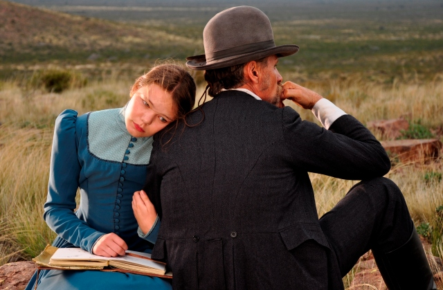 Viggo Mortensen (right) in 'Jauja' (Cinema Guild)