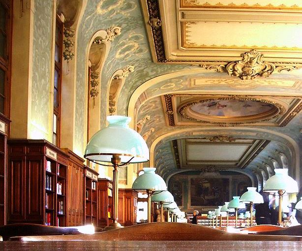 The library at Paris's La Sorbonne (Zantastik).