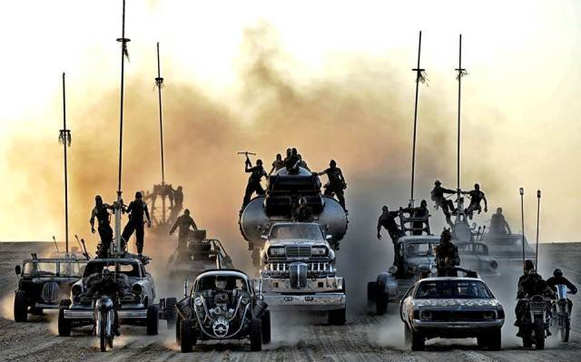 Vroom, vroom - 'Mad Max: Fury Road' (Warner Bros.)