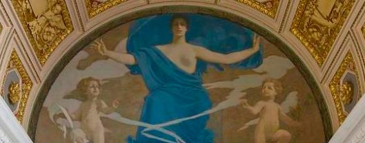 Calliope -- she was the muse responsible for those writing epic poetry. (Library of Congress)