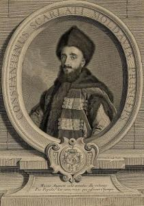 "Constantine Maurocordato, one of the Ottoman Empire's dragomen, whose work as translators of the ""infidels"" language gave birth to the word ""infidelity."""