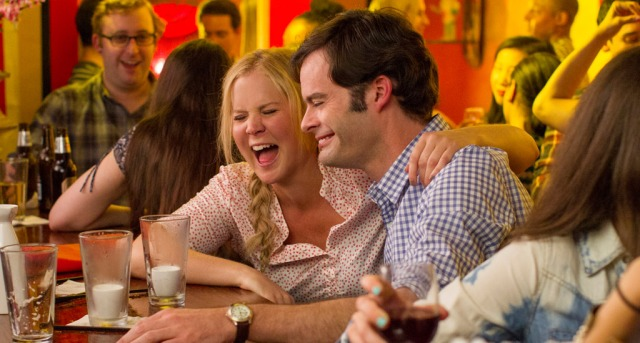 Amy Schumer and Bill Hader in 'Trainwreck' (Universal).