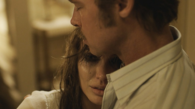 Angelina Jolie and Brad Pitt in 'By the Sea' (Universal Pictures)
