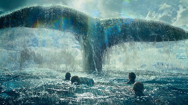 One big whale: 'In the Heart of the Sea' (Warner Bros.)
