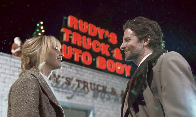 Jennifer Lawrence and Bradley Cooper in 'Joy' (20th Century Fox)
