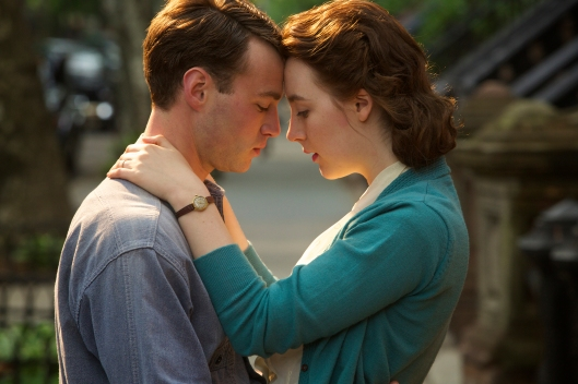 Emorey Cohen and Saoirse Ronan in 'Brooklyn' (Sony Pictures Classics)